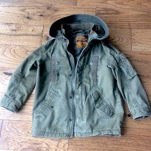 Zara Kids Size 4-5 (110 cm) boys jacket w/ vest